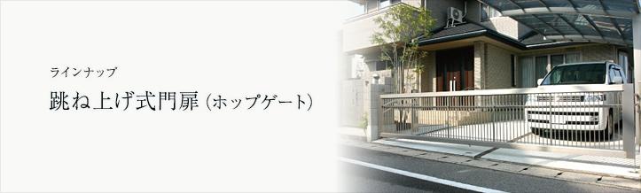 四国化成 ホップゲート(跳ね上げ式門扉) 画像