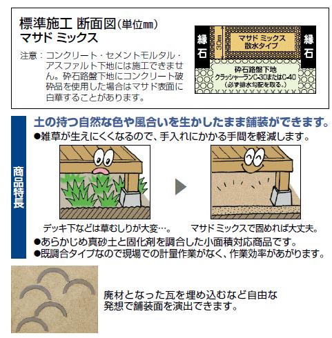 四国化成 マサドミックス 散水タイプ 商品特長画像