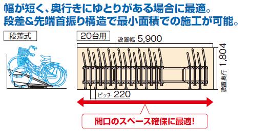 四国化成スライド式<br /> ラックF3型(SRKF3-)商品特長画像