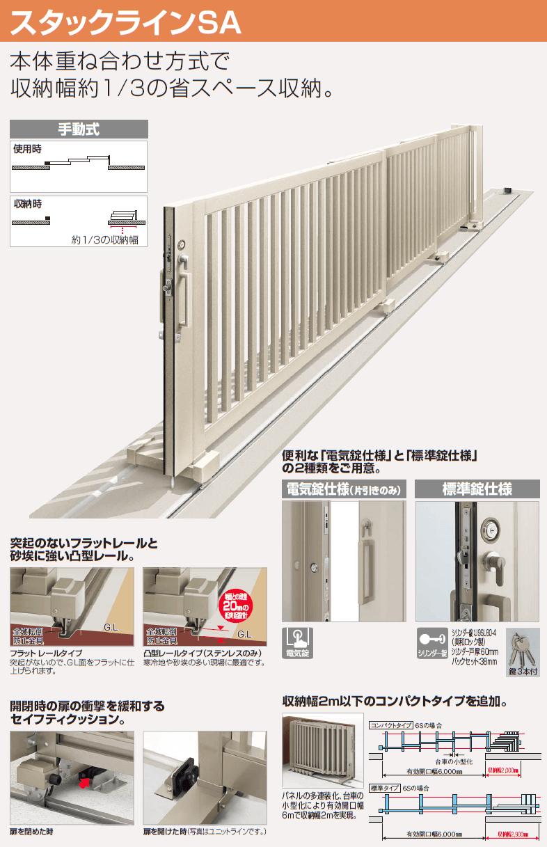 四国化成 スタックラインSA型 商品特長1