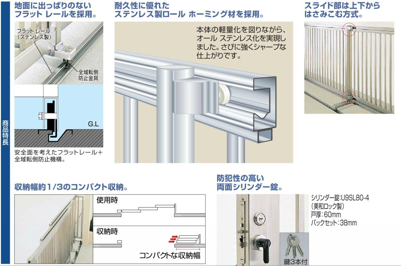 スタックラインS1型 商品特長画像