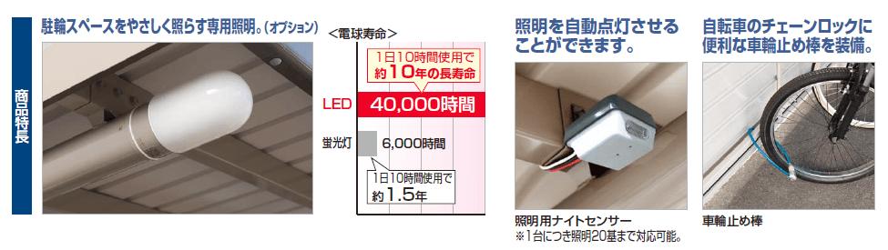 四国化成 サイクルポート BGF 商品特長画像1