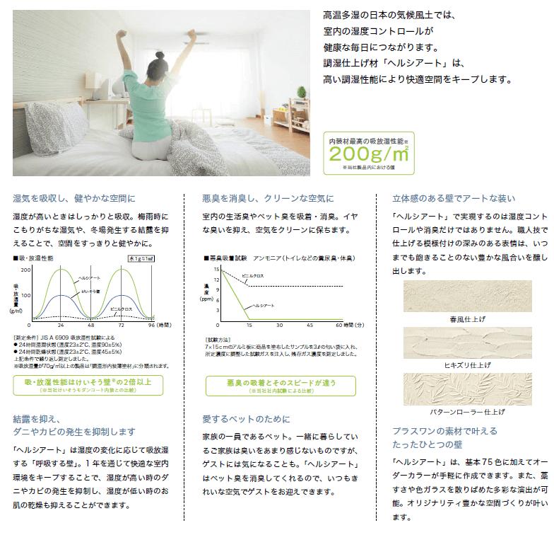 四国化成 ヘルシアート 商品特長画像2