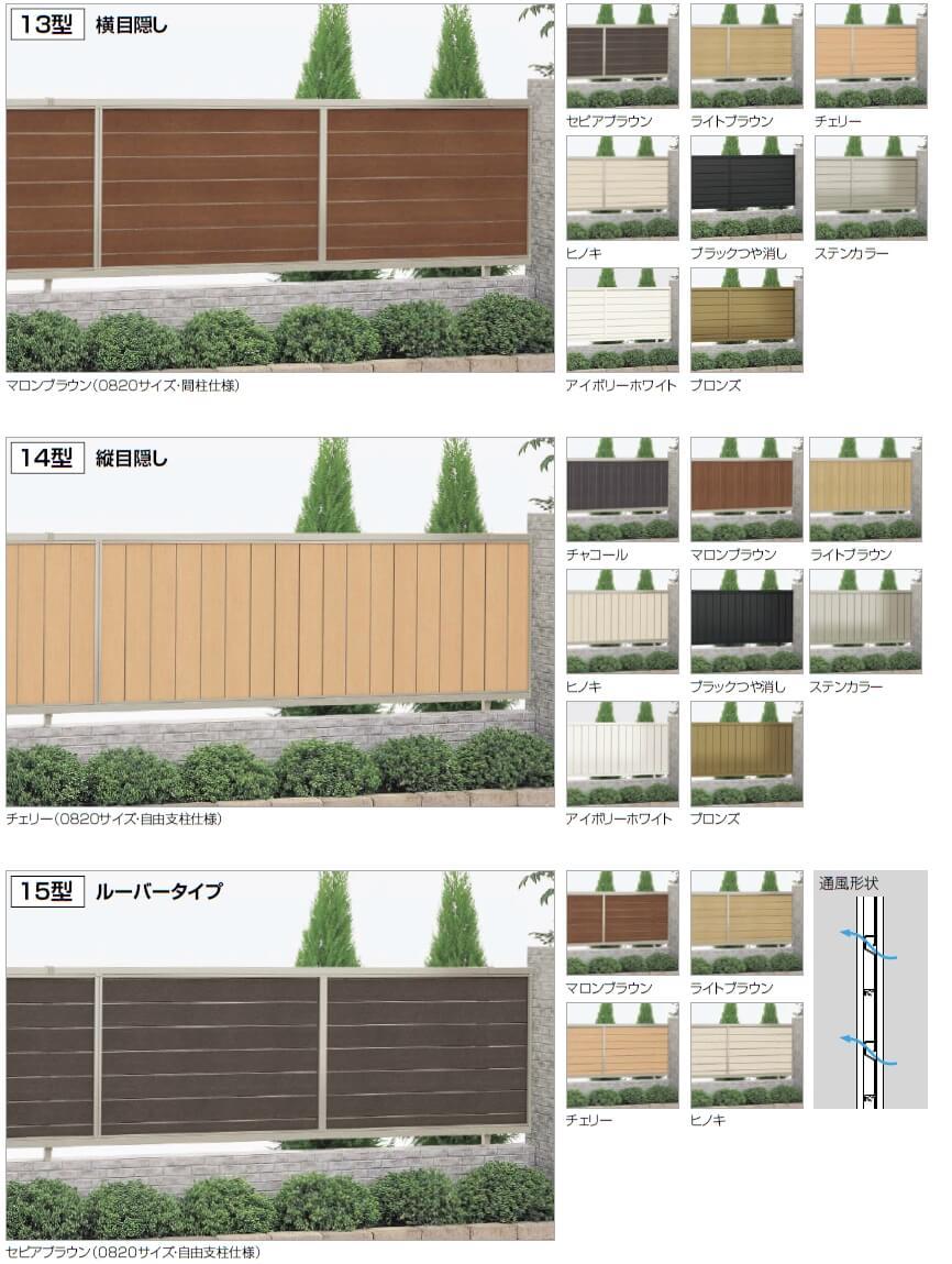 四国化成 クレディフェンス13型 クレディフェンス14型 クレディフェンス15型 写真