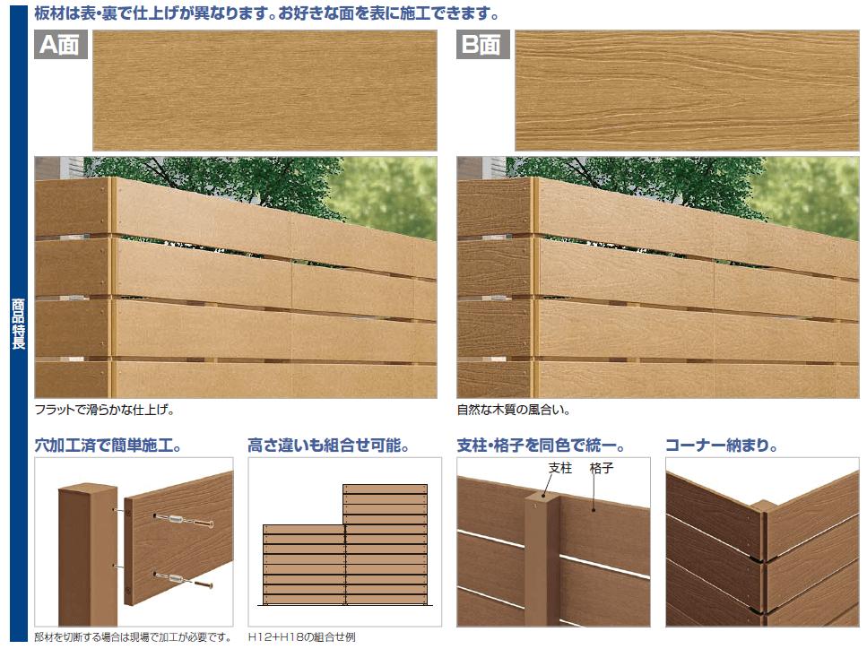 四国化成 FDフェンス1型 商品特長画像