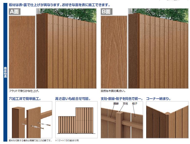 四国化成 FDフェンス2型 商品特長画像