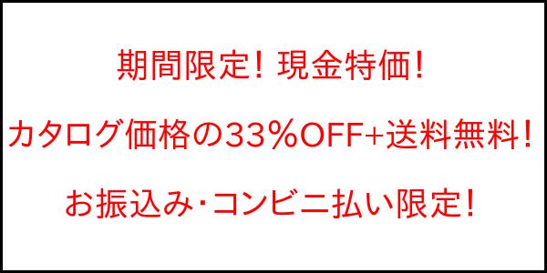 期間限定 特別価格 バナー