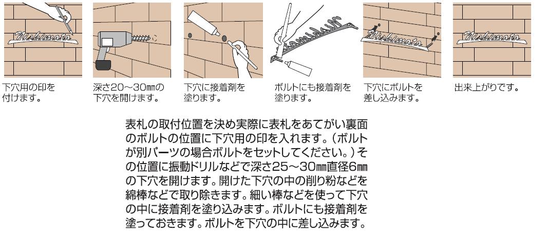 丸三タカギ FELICE(フェリーチェ)取り付け方法画像