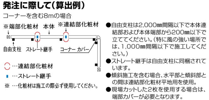 四国化成 格子フェンスK1 型/格子フェンスK2型 発注に際して画像