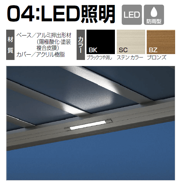 四国化成 04:LED照明画像