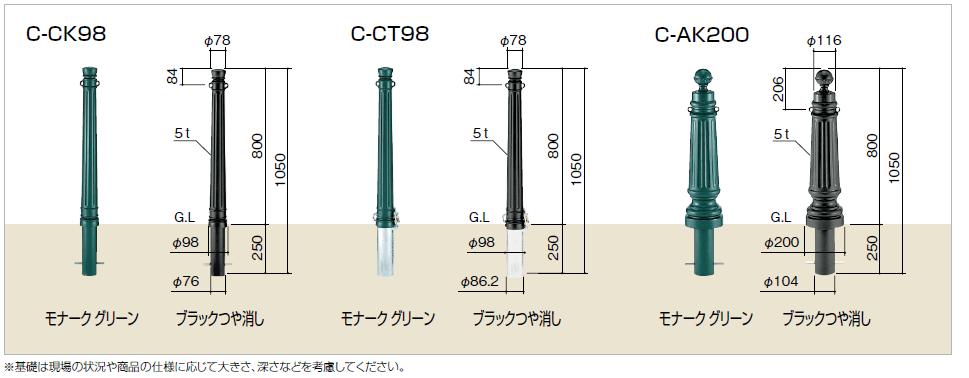 四国化成 C-CK98 CT98 AK200画像